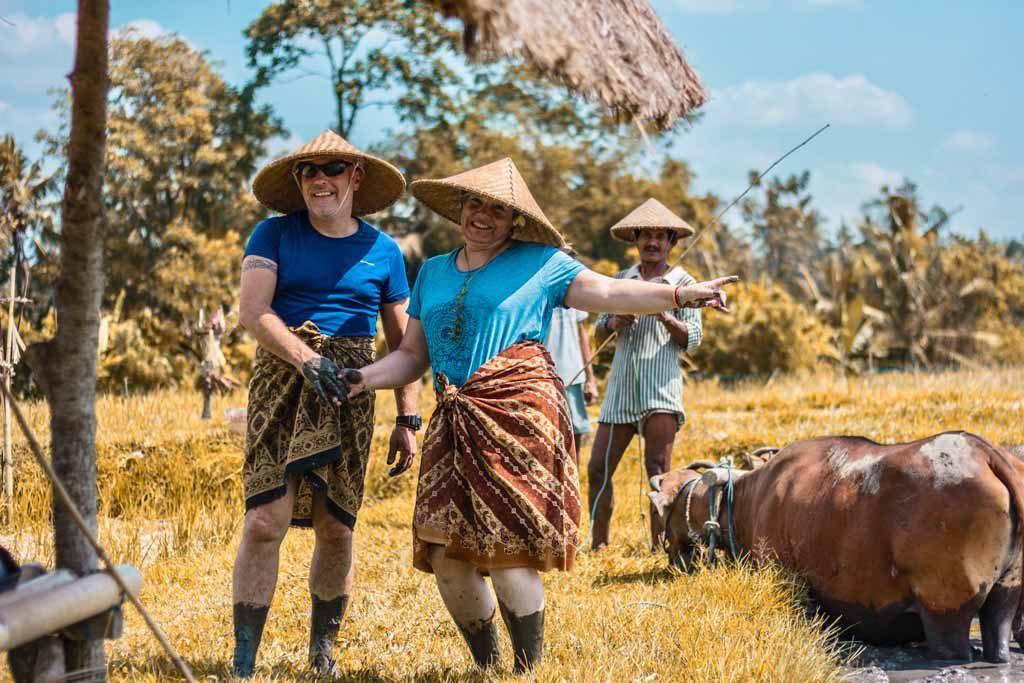 Activités avec des villageois et Temple