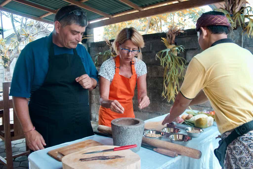 Cours de Cuisine sur Sanur