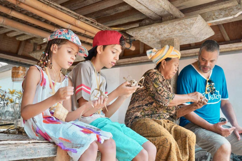 Activités avec des villageois et Temple - Bali Exotique Francophone